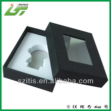 custom jewelry box with clear window wholesale