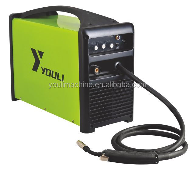 Inverter IGBT portable MIG/MAG welding machine suitable for gasless welding wire MIG-160PI