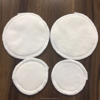 Wholesale Reusable Washable Bamboo Cotton Makeup Remover Pads