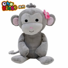 Hot Sale Factory Direct Wholesale soft cute girl monkey stuffed plush toy promotional gifts,custom plush toy