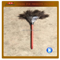 Quality Ostrich Feather Duster With Wood Handle, Big Feather