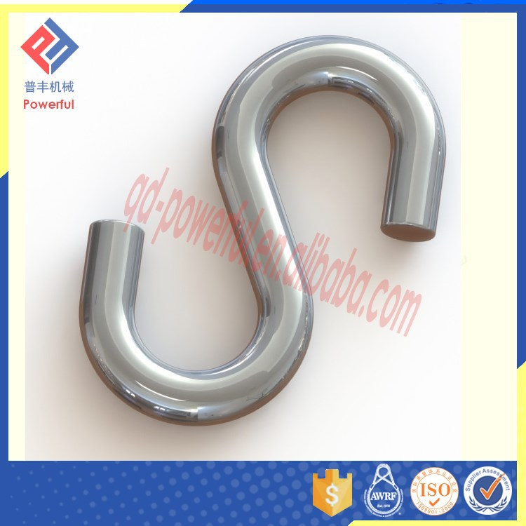 Large Heavy Duty Stainless Steel S Shaped hook