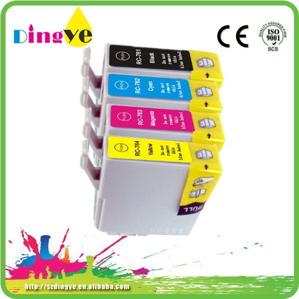 new product compatible ink cartride for epson t0761 for ME200 Stylus C58