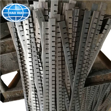 weld forged hot dip galvanized press locked steel grating platform