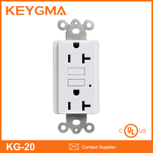 UL/CUL Listed 20A GFCI USB Wall Outlet Sockets