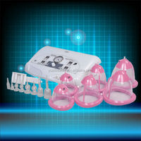 New product 2014 hot beauty salon women nude breast massage Breast Enlargement Machine with electric breast massager