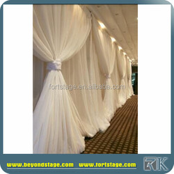 hot sale cheap portable ceiling drapery for wedding