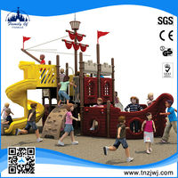 Best-Selling UV-resistance large pirate ship math outdoor park equipment outdoor play equipment