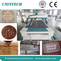 China high quality Cnc wood engraving machine QC-1325(1300*2500mm)