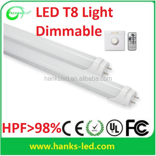 white 5 year warranty Dimmable led lights T8 18W 1200MM dimming led tube light