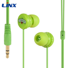 Bottle cap wired promotional funny earphones for mp3