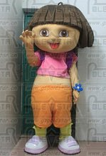 the most popular dora the explorer mascot costumes real pictures