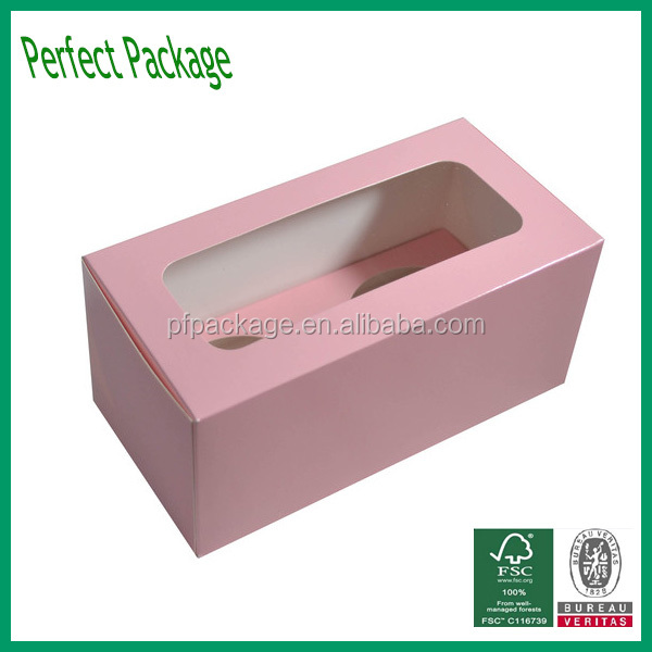 Fashional Hand Mande 300gsm Art Paper Cake Box Wholesale