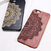 2017 real walnut wooden phone case for Iphone 6/6s,mobile phone accessories