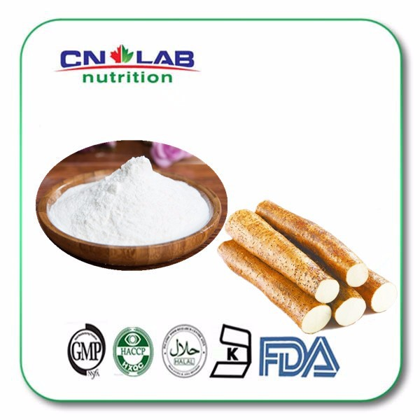 ISO GMP Factory supply 100% nature chinese yam rhizome extract powder