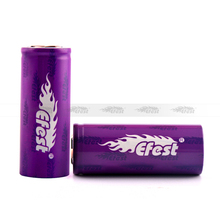 Efest newest 26650 battery 4200mah high capacity efest 26650 batery 40amp efest imr 26650 Li-Mn battery