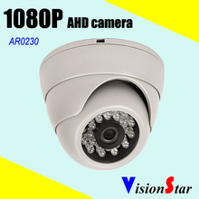 AHD 2.1MP color night vision camera HD 1080P CCTV Video 2000tvl plastic model