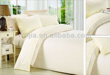 bed linen for sale cheap South america middle eastern ribbon embroidery lace flat sheet sets bedding sets bed sheet