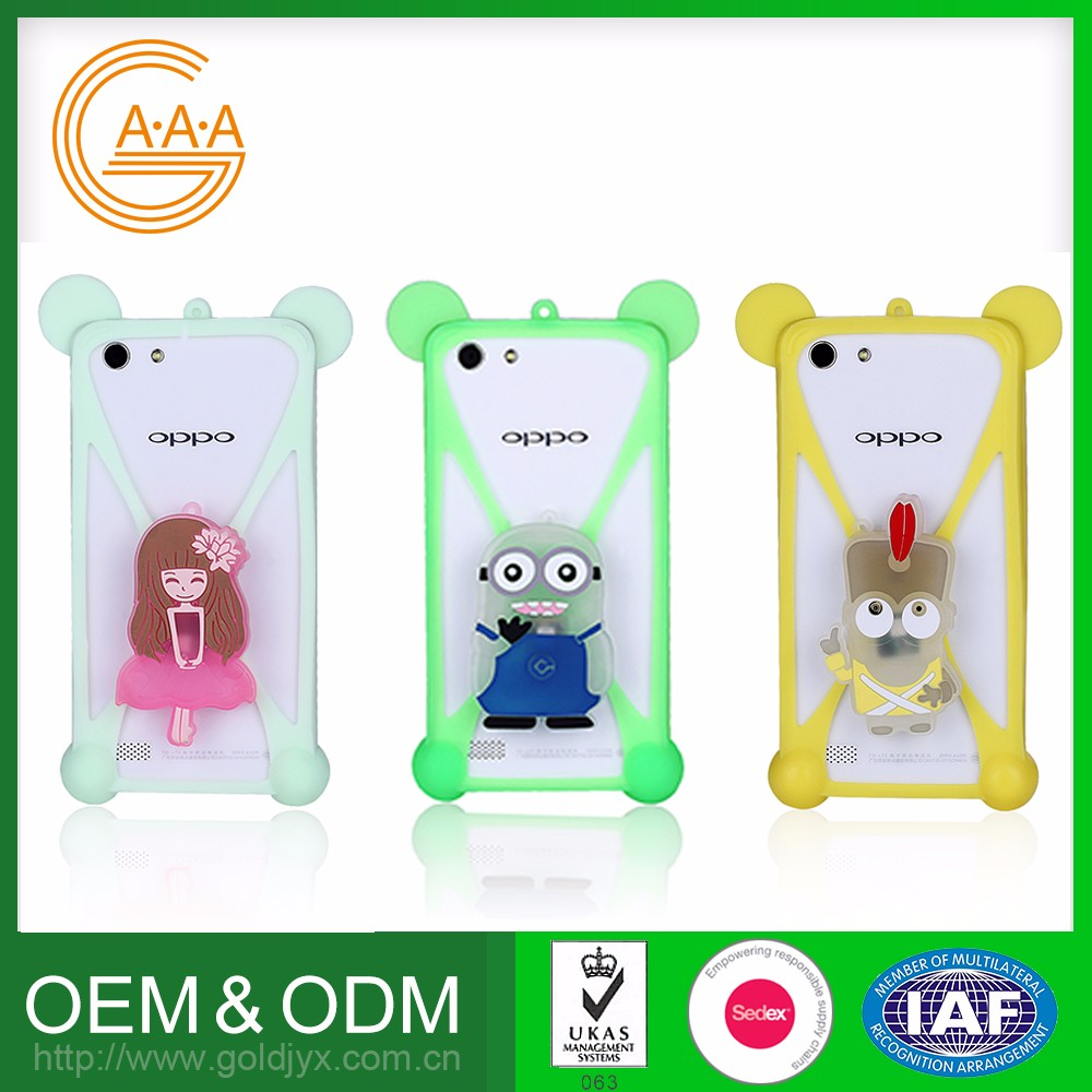 Free Sample OEM Design Custom style Silicone Colorful mobile phone case