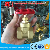 SSF50020 Brass Gate Valve forged handwheel rising stem brass gate valve