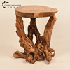 Manufacture natural hand carved root carving coffee table wood furniture