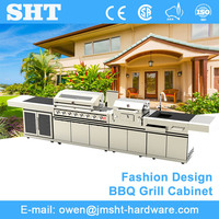 High Quality Wholesale Commercial Italian Modern Outdoor Kitchen