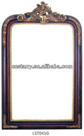 colored mirror frame, plain wooden mirror frame, lacquer mirror frames