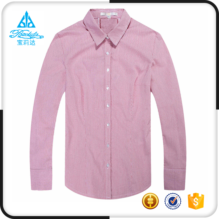 Fashion ladies clothing back neck design of blouse models