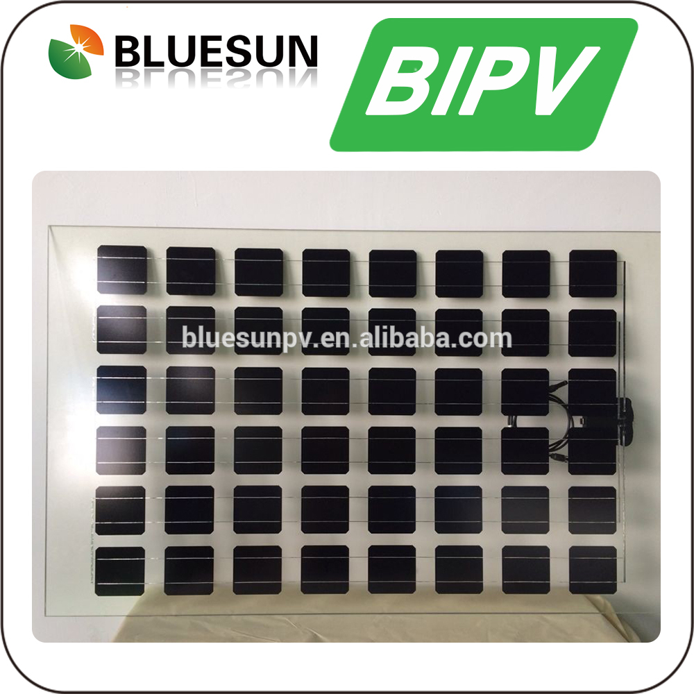 Mono 190w BIPV Module 8mm Tempered Glass BIPV Roof PV Manufacturer