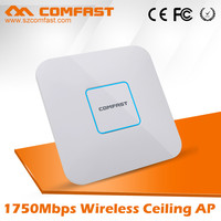 Enterprise COMFAST CF-E380AC 1750mbps Dual Band Wifi Modem Network Antenna Wifi Indoor 1000mw Ceiling AP with POE 802.11 ac