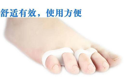 footcare soft gel Toe separator straighten toes foot accessories finger straightener