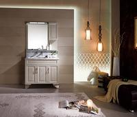 Mirror washing basin cabinet vanities made in China