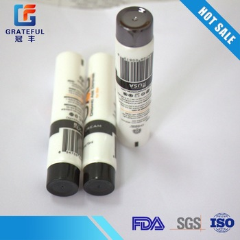 Good quality oil massage plastic tube with screw cap