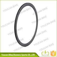 Clincher carbon rim for road wheel, 38mm 650c T700 with basalt braking,