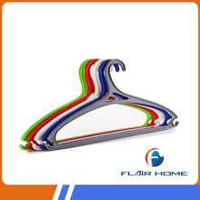 Colorful good quality plastic shop clothes hanger stand, coat hanger stand, bedroom clothes hanger stand