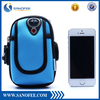 Soft Neoprene Arm Pouch For iphone 6 / 6 plus,Two Pockets Colorful Fashion Sports Gym Bag for Men