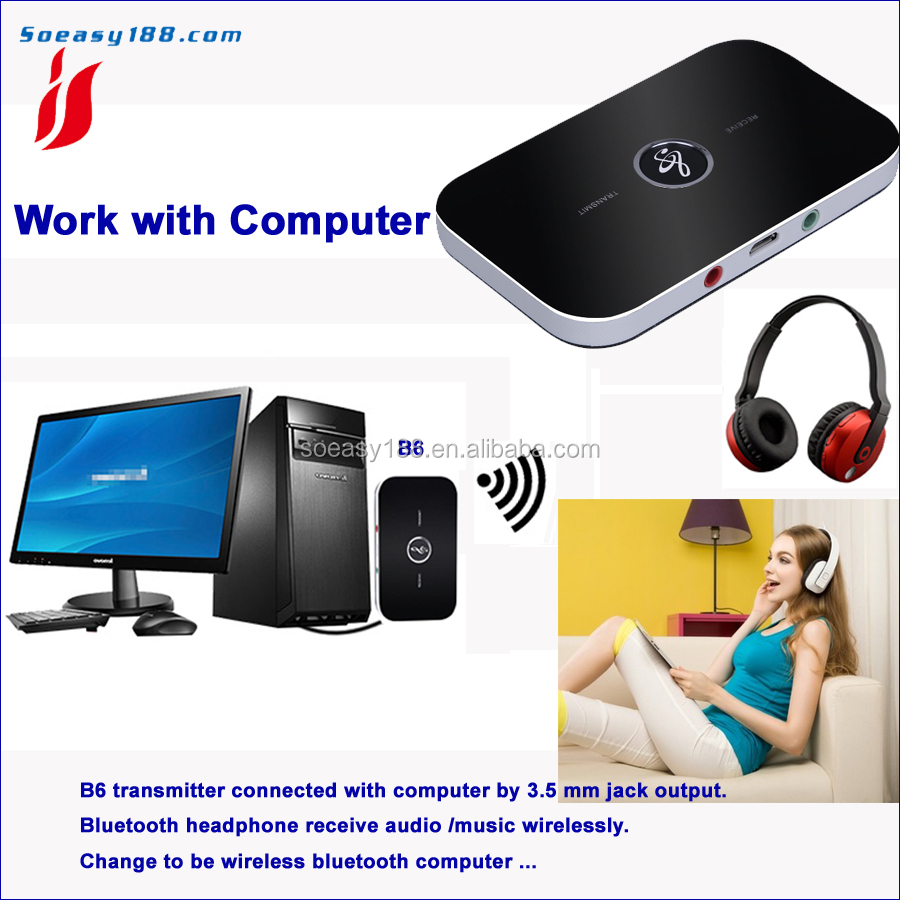 Bluetooth 4.1 audio music receiver adapter for huawei smart phone to wired speaker wirelessly