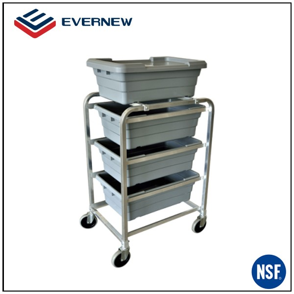 4 wheels cleaning trolley cart with cheap price