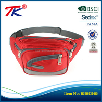 Most popular passport money tickets functional luggage waist bags with multi pockets