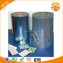 Clear PVC Rigid Plastic Film For Packing