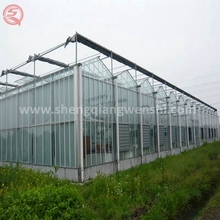 Hot sale low cost garden tunnel agricultural PC greenhouse irrigation system