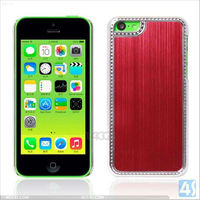 Metal Brush hard case For Apple iPhone 5C P-IPH5CHCSO012