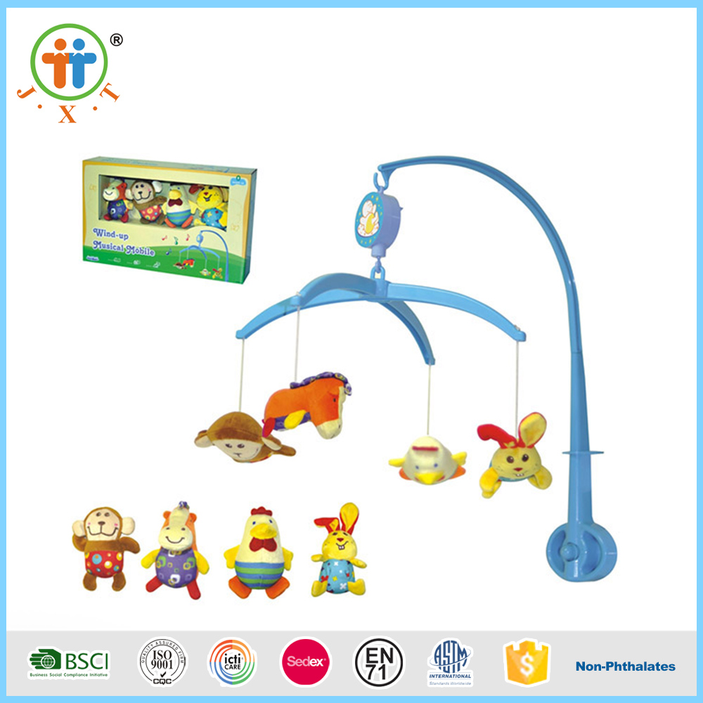 China wholesale funny soft toys musical mobile baby bed bell for sale