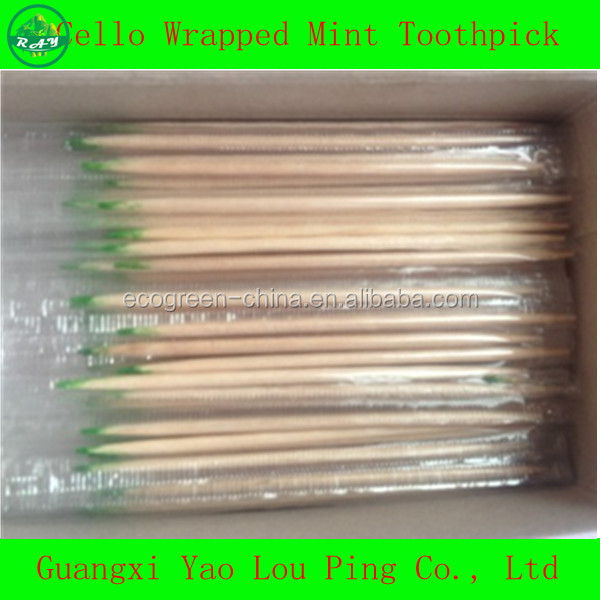 Factory Competitive Price Bamboo/Wooden Toothpicks