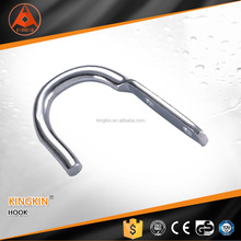 China manufacture Zinc Plated Metal Stainless Steel Wire Rope Hook