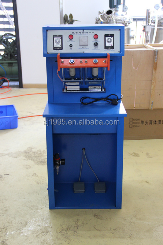 ultrasonic aluminium laminated tube sealing machine