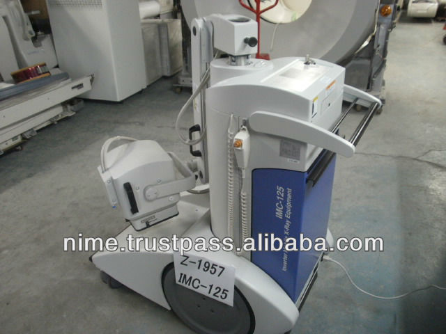 IMC-125 Mobile X-RAY machine TOSHIBA (Used) Z-1957-1
