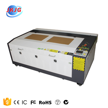 JK1060 80W100W  CO2 Laser engraving machine for wood, stone, glass, paper, leather, rubber
