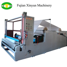 High speed facial tissue raw paper slitting machine