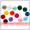 Top Quality Wedding Decorations 5cm Honeycomb Ball Paper Garland